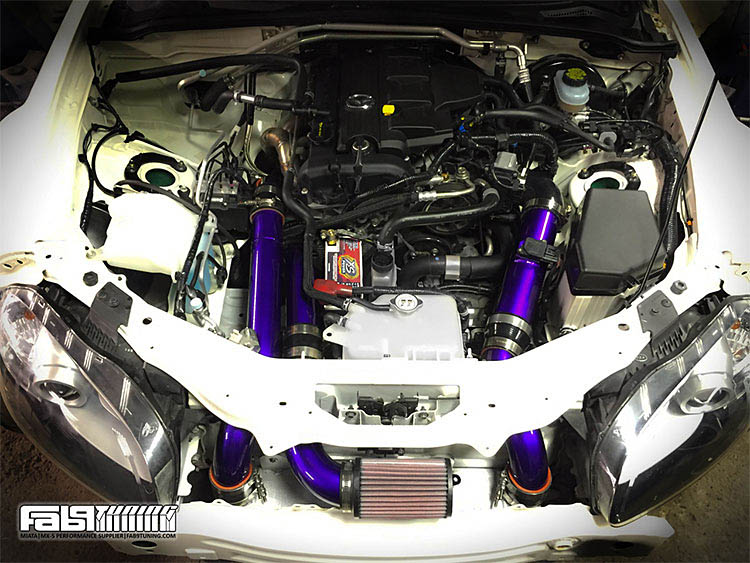 fab9 tuning nc engine bay