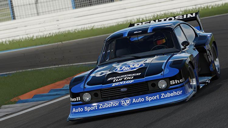 ford capri zakspeed turbo retro racecar