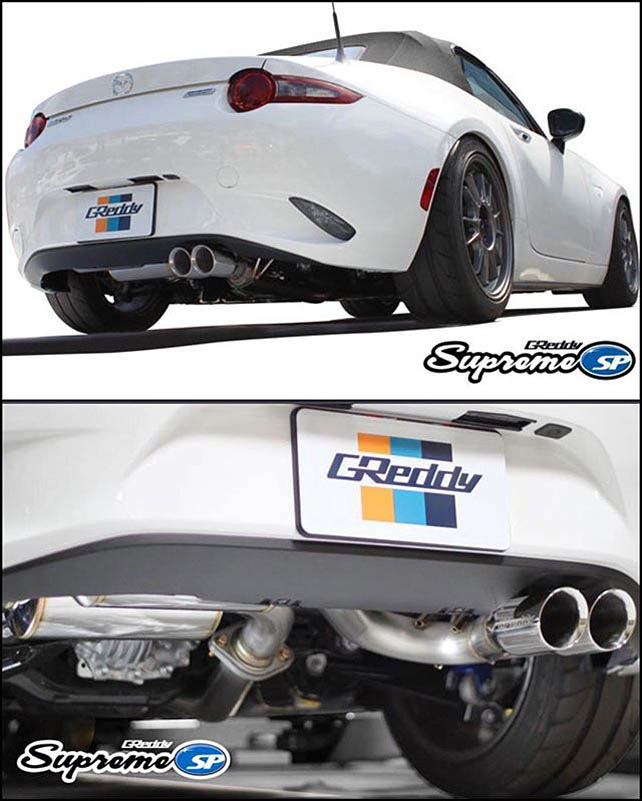 greddy supreme nd exhaust