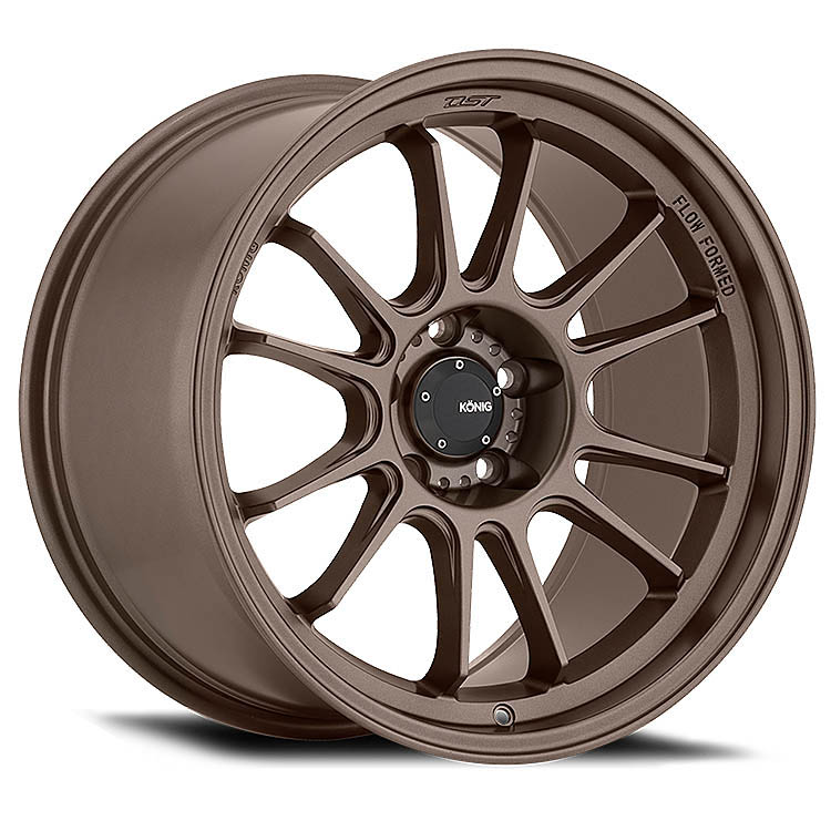 konig hypergram bronze wheels