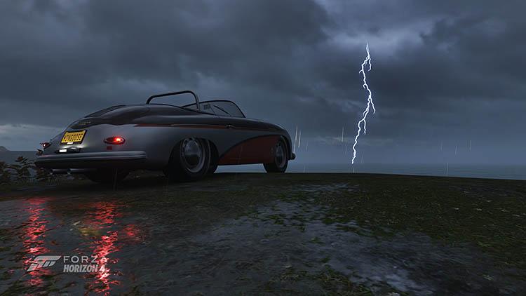 porsche lightning old school