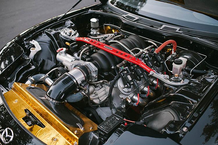 mazda rx7 fd fd3s engine v8 swap