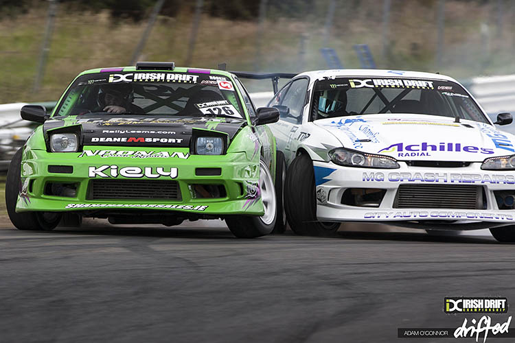 nissan silvia s chassis battle tandem 240sx s13 s15