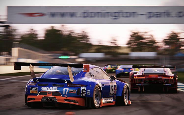 porsche 911 gt3r gt3 donington park race racing