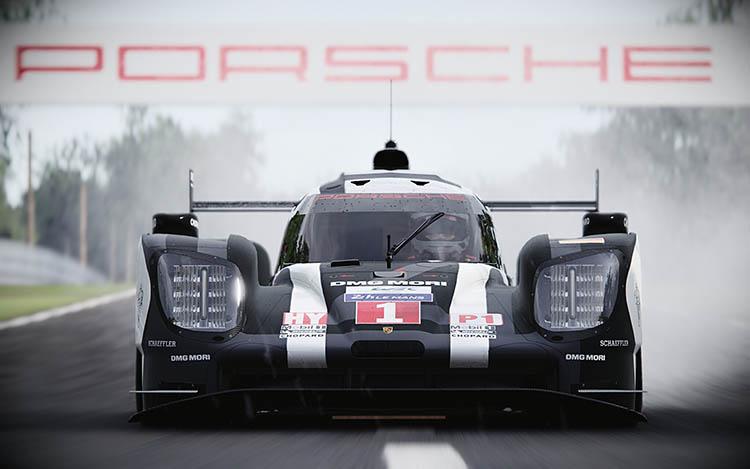 porsche 919 lmp1 le mans race racecar