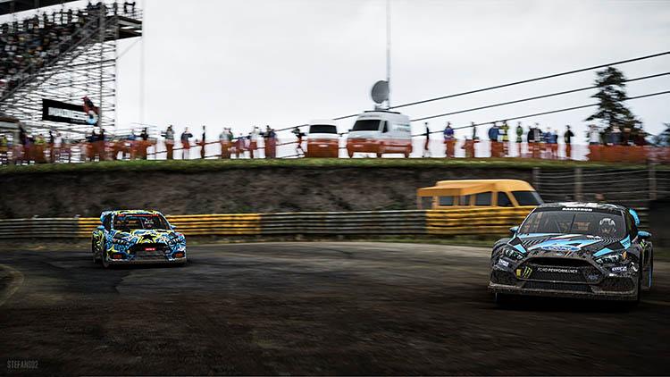 rallycross ken block ford focus rx