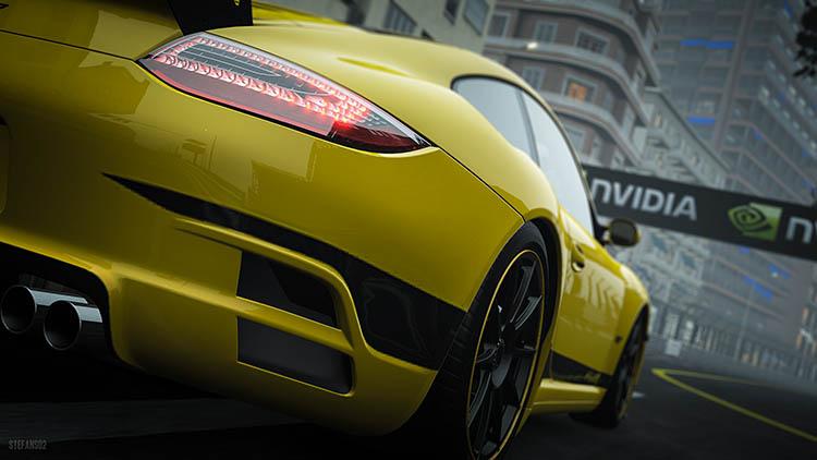 ruf rt12 r yellow