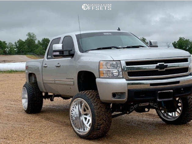 2011 silverado 1500 chevrolet king off road suspension lift 8in american force trax ss polished