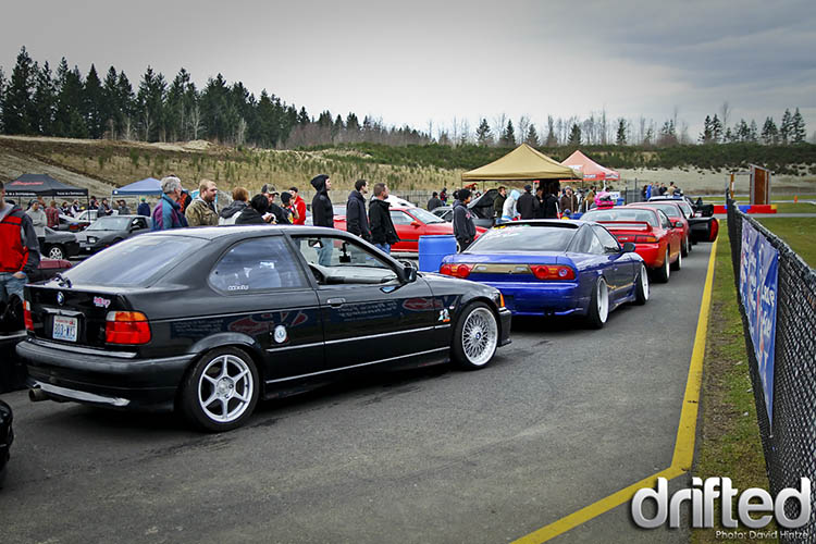 drift track day lineup
