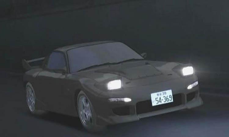 kyoko iwase black rx7 fd
