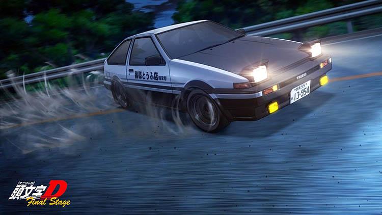 takumi fujiwara drift drifting touge
