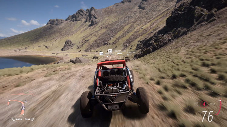 buggy off road rocky mountain