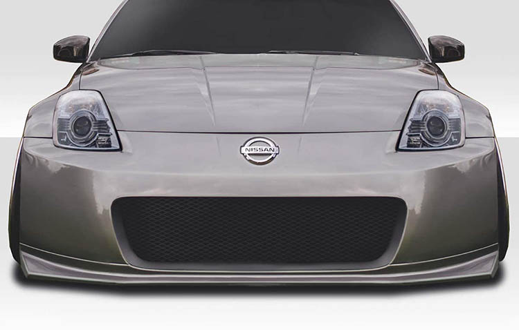 extreme dimensions nismo v2 n 2 front bumper nissan