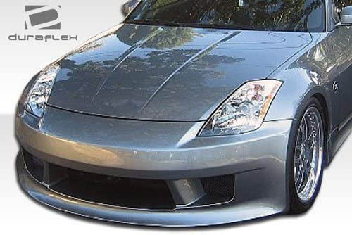 extreme dimensions v speed vertex style replica front bumper nissan