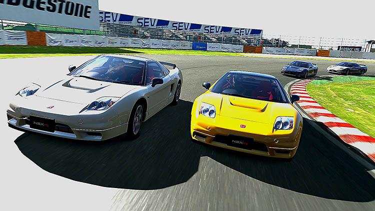 gran turismo 5 honda nsx race racing