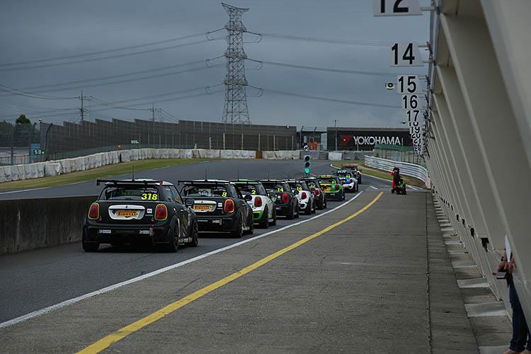 mini challenge race racing japan