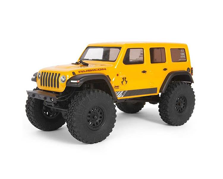 rubicon jeep wrangler axial scx24 yellow