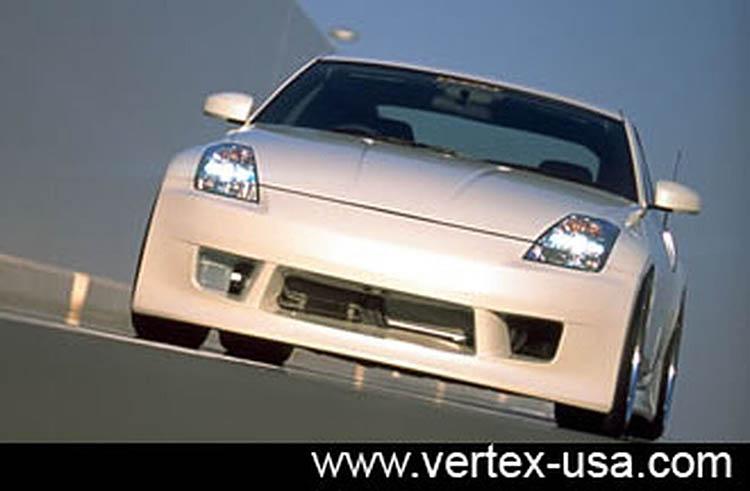 vertex white front bumper jdm nissan