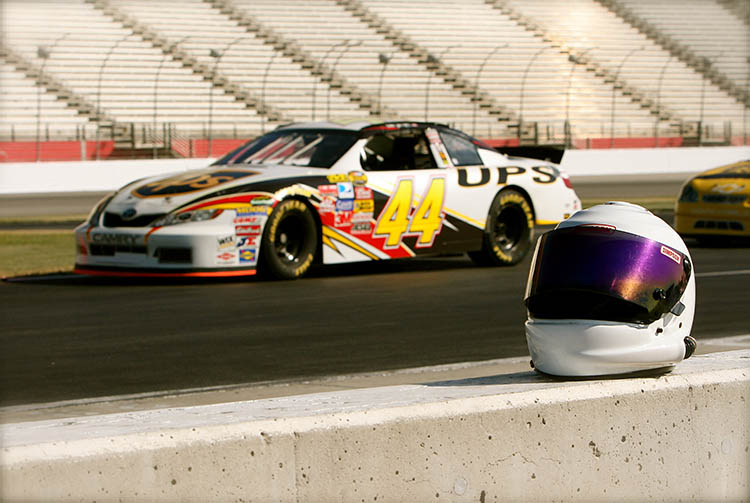 helmet track racing