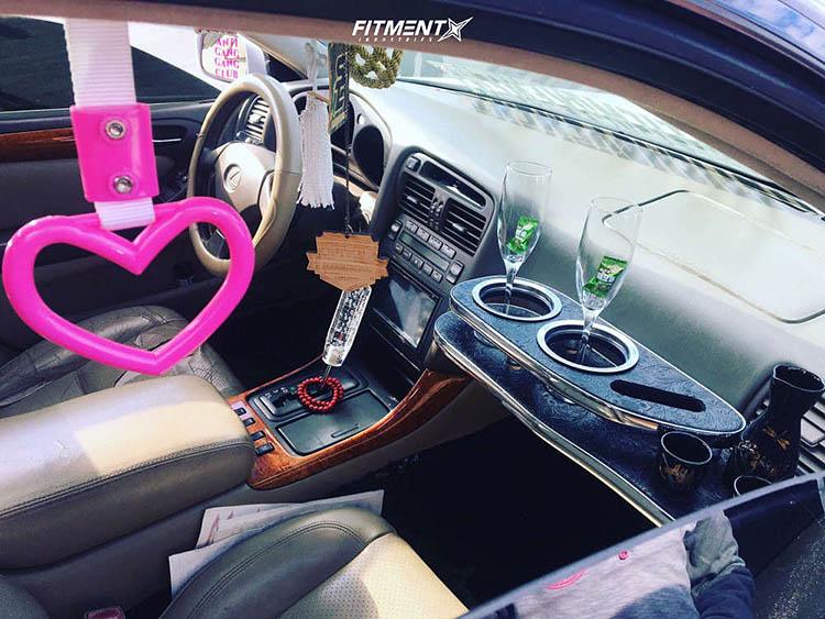 interior 2000 4dr sedan bc racing coilovers weds kranze cerberus chrome lexus