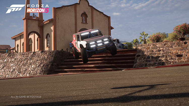 offroad-buggy off road jump stairs