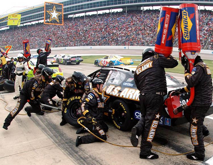 pit stop crew team