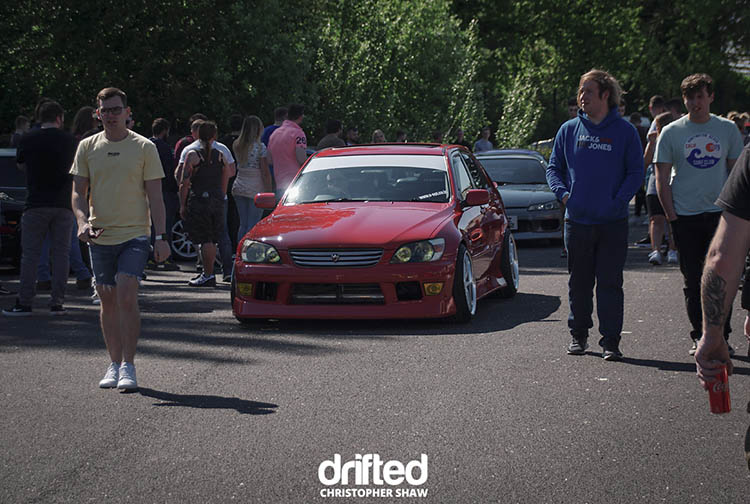 red-toyota altezza lexus is300 is350 stance letstance uk