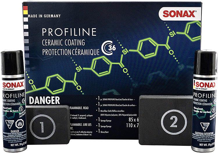 sonax profiline basecoat glosscoat