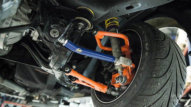 2jz silvia front suspension camber arms alignment