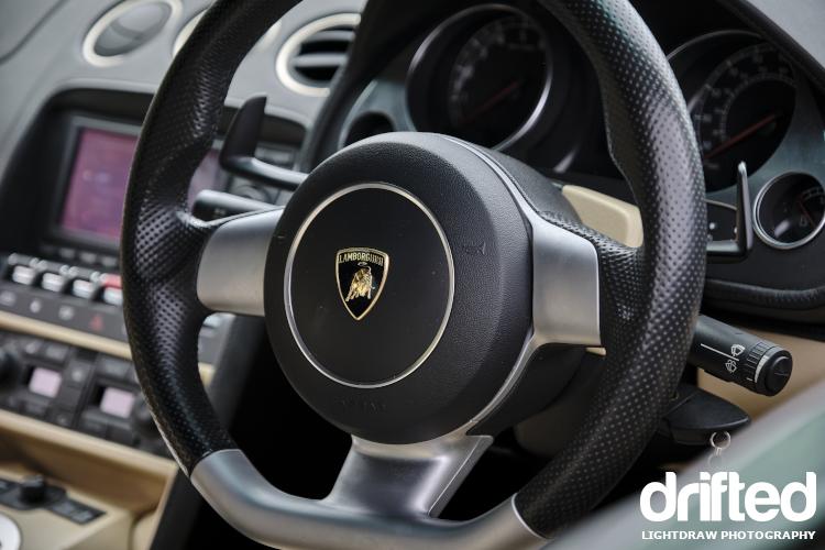 lamborghini gallardo steering wheel