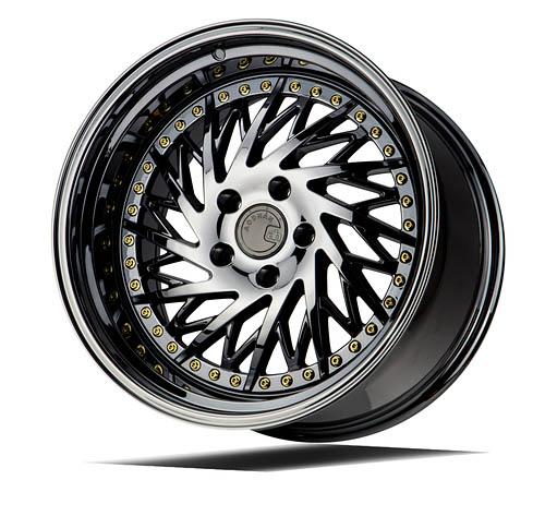 ds03 ds 03 black vacuum gold rivets