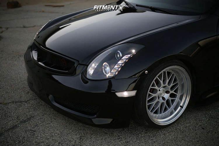 nissan g35 infiniti 2dr coupe 35l 6cyl 6m vera air suspension ah02 silver