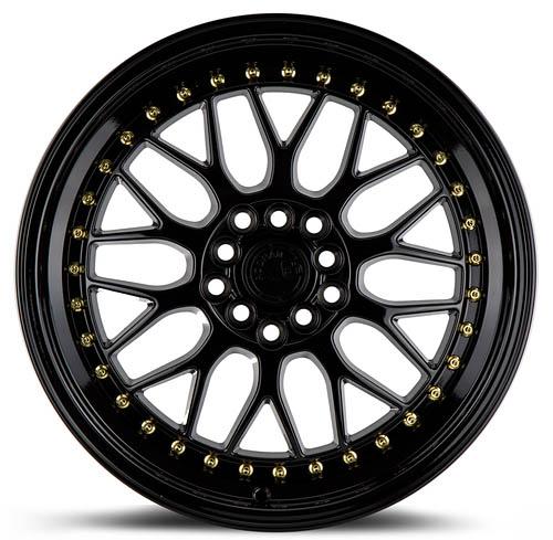 ah02 ah 02 black gold rivets