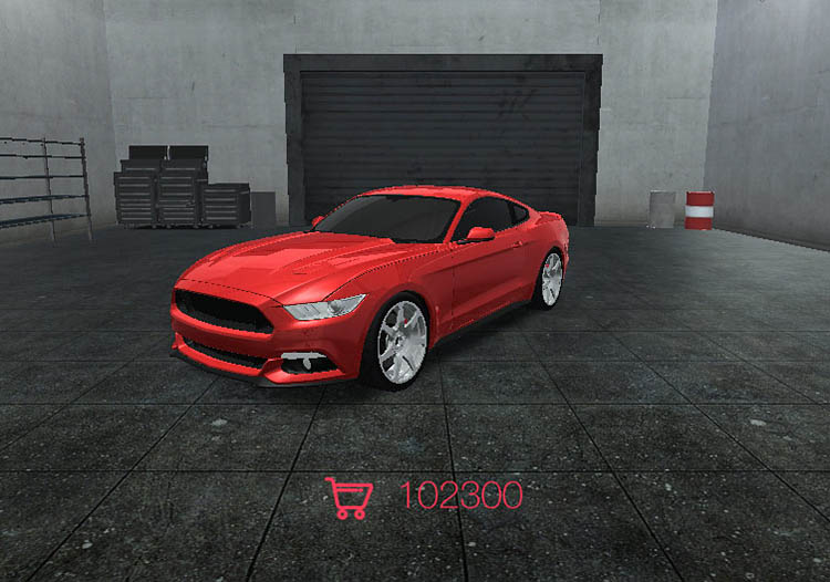 ford mustang fastbck s550