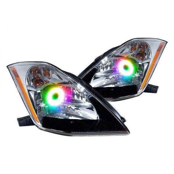 oracle lighting led multicolored halo kit nissan
