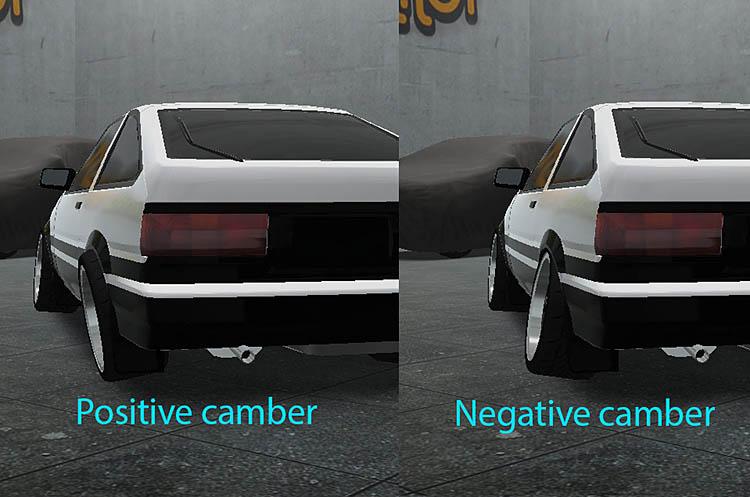 rear camber