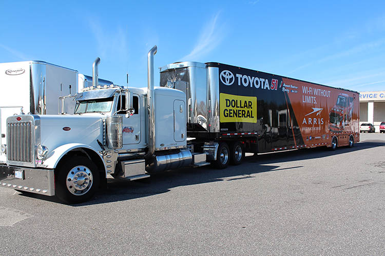 big rig truck trailer toyota