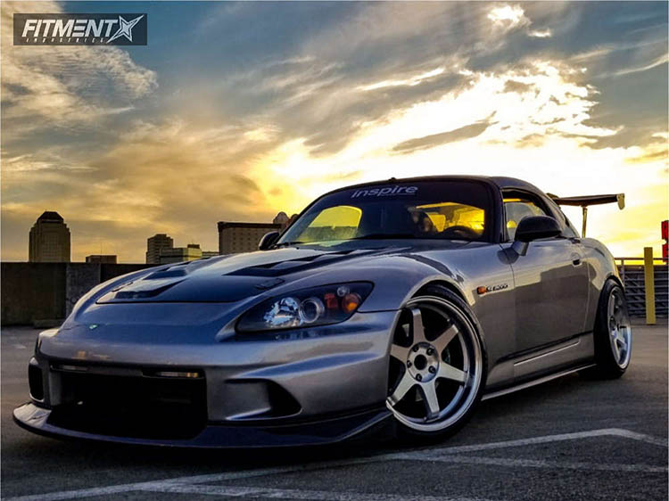 gray 2004 s2000 bc racing coilovers varrstoen 222 polished